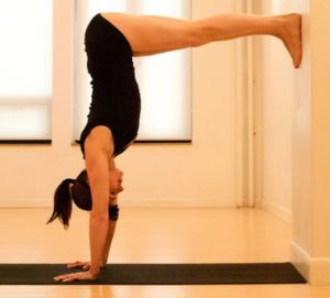 This is a fantastic shoulder strengthener and preparation for handstand.